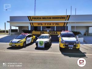 Posto Policial de Iporã apreende veículo com drogas que seriam entregues em Campo Mourão