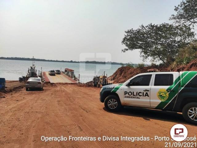 Dois homens são flagrados com 74 quilos de peixes nativos em São Pedro do Paraná