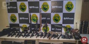 BPFron apreende Cem mil Reais em armas de airsoft e acessórios em Guaíra