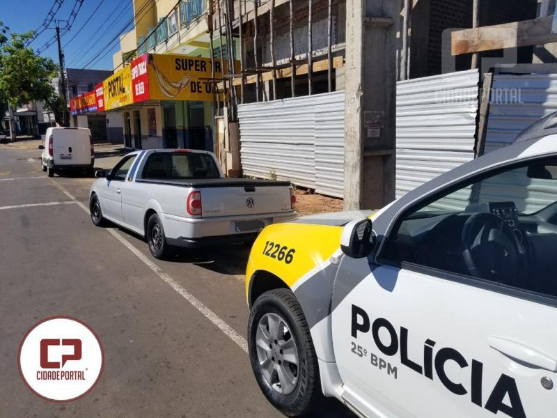 Polícia Militar de Umuarama recupera veículo furtado em Santa Isabel do Ivaí