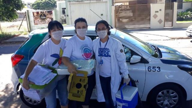 Secretaria readequa o atendimento nas UBS de Umuarama e inicia campanha de vacinação