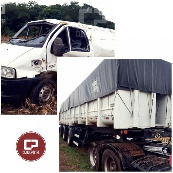 Uma pessoa perde a vida em acidente na PR-486 entre Brasilândia e Alto Piquiri