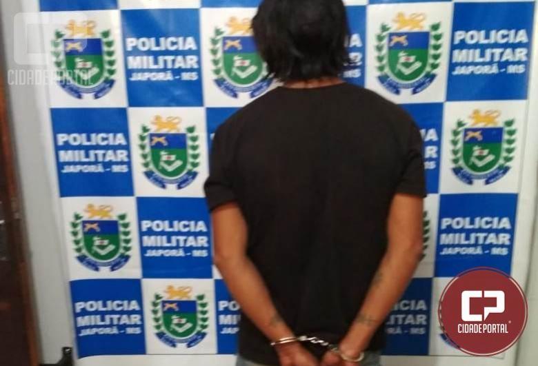 Polícia Militar de Japorã captura foragido da Justiça