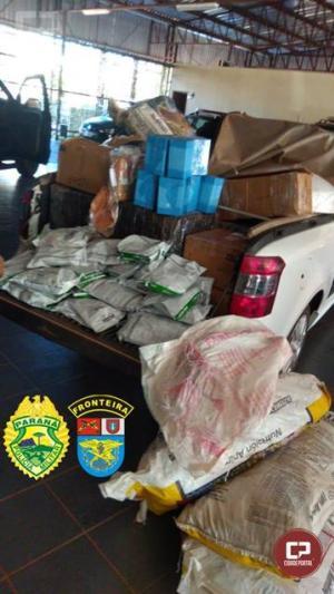 BPFRON apreende veículo carregado com veneno e volumes durante Operação Hórus em Guaíra
