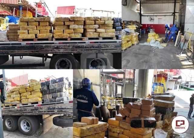 Polícia Civil de Umuarama incinera mais de 5 toneladas de maconha