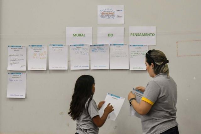 Programa ambiental em Umuarama estimula alunos na produção de textos e desenhos