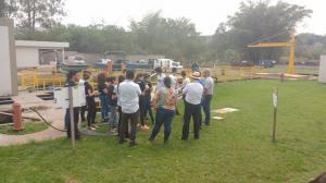 Estudantes do IFPR encerram atividade Do Rio ao Rio em Umuarama