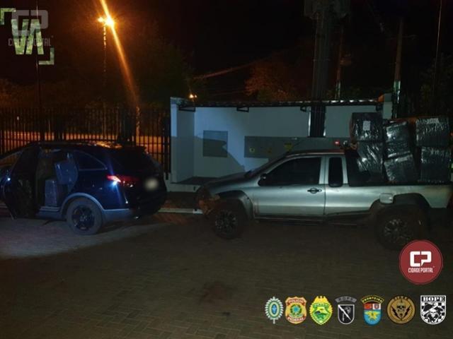 PF e BPFron estouram depósito de agrotóxicos paraguaios em Guaíra