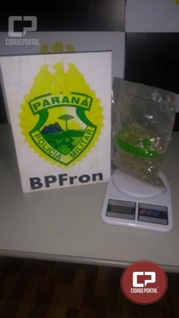 BPFRON apreende substância análoga a maconha em Guaíra