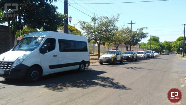 Policiais Militares do 7º BPM prendem 5 pessoas e apreendem 6 veículos na região de Umuarama