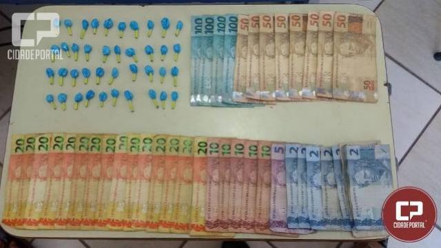 Polícia Militar de Umuarama apreende grande quantidade de droga e prende uma pessoa por tráfico