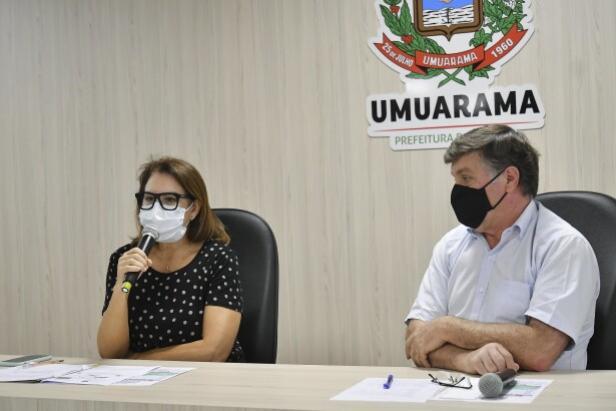 Em pronunciamento, Pozzobom alerta população de Umuarama a retomar cuidados com Covid-19