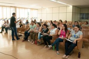 Diretores da rede municipal recebem  orientações sobre parcerias com o Sesc