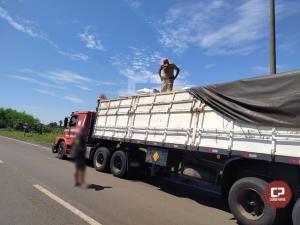 PRE de Iporã prende homem transportando quase 5 toneladas de maconha na PR-323