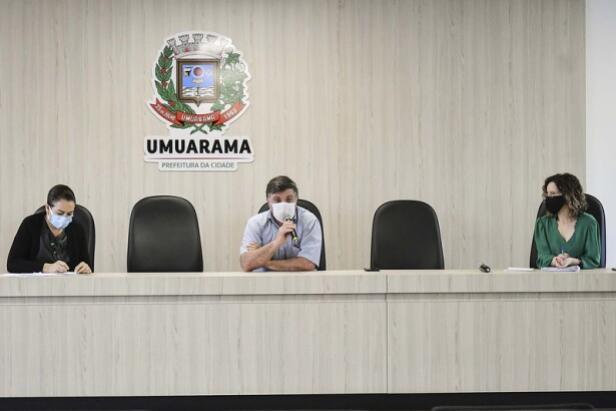 Decreto aumenta restrições para conter o avanço do coronavírus em Umuarama
