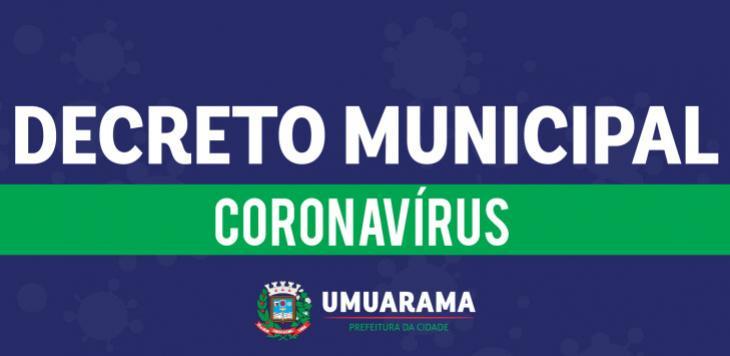 Medidas de combate à Covid-19 em Umuarama são unificadas em novo decreto