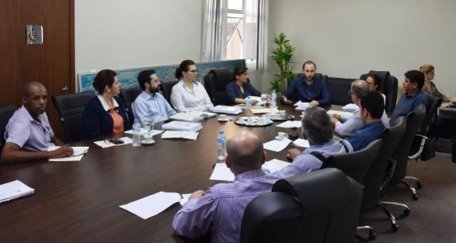 Vereadores participam de Mesa de  Negociação referente à da LOA 2018