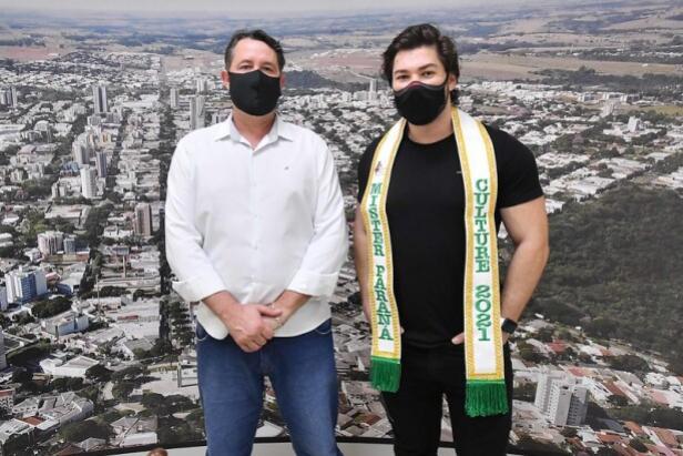 Modelo de Umuarama vai representar o Paraná no Mister Brasil