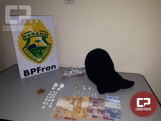 BPFRON apreende drogas após abordagem em Santa Isabel do Ivaí durante Operação Hórus