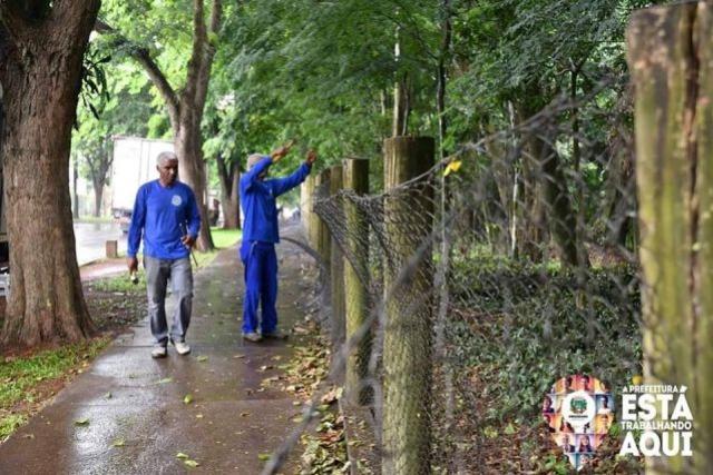 Iniciada a revitalização do Bosque dos Xetá em Umuarama