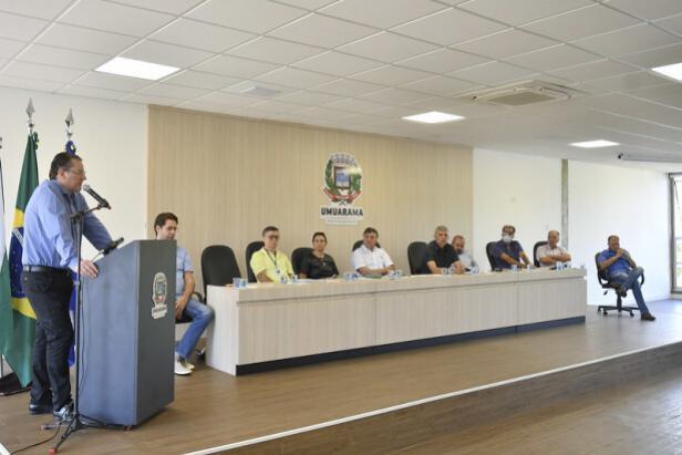 Prefeito de Umuarama reúne lideranças para avaliar quadro e medidas contra o coronavírus