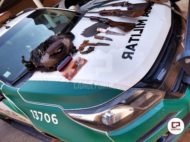 Polícia Ambiental prende caçadores em flagrante na cidade de São Jorge do Ivaí