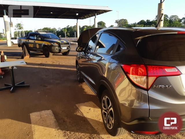 PRF recupera em Guaíra veículo com ocorrência de estelionato em São Paulo