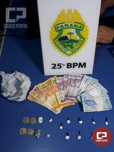 Duas mulheres foram presas por tráfico de drogas em Umuarama