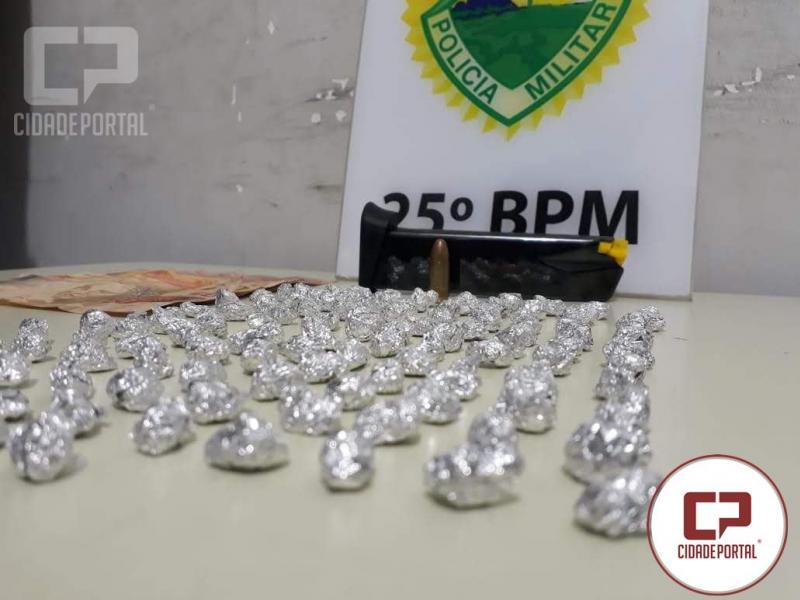 Equipes Rocam e do serviço de inteligência realizam prisão de traficante na estação rodoviária de Umuarama
