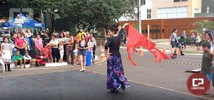 Cia de Dança IFPR Schubert prestigia UmuAção de Aniversário da Cidade