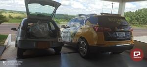 ROTAM apreende veículo carregado com contrabando na PRC-272