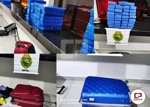PRE de Iporã apreende mais de 98 kg de maconha em Cafezal do Sul