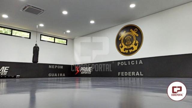 PF em Guaíra inaugura Centro de Treinamento em Lutas com a presença de campeão do UFC