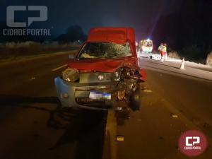 Motociclista perde a vida após colidir com veículo na BR-277 em Cascavel