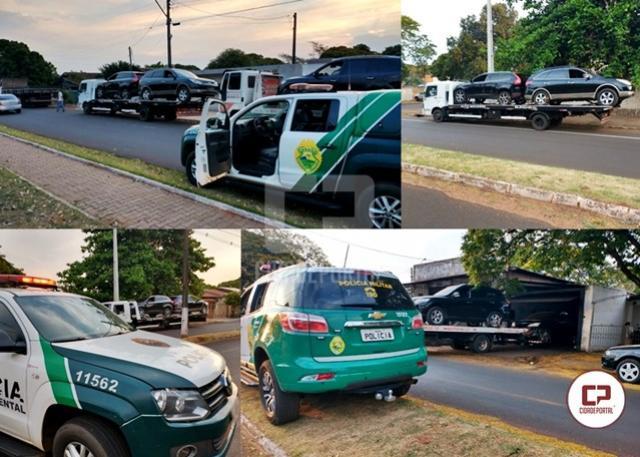 Polícia Ambiental de Umuarama apreende 6 veículos em Altônia