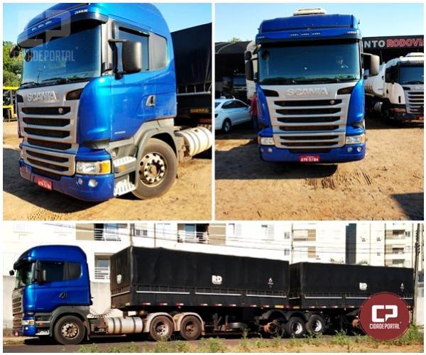 Polícia Civil de Umuarama recupera caminhão roubado em Santa Fé no Paraná