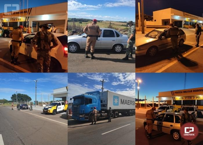 Policias Ambientais desencadeiam operação para orientar as pessoas sobre combate ao COVID-19 em Iporã