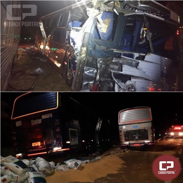 Sete pessoas ficam feridas em acidente na BR-369 em Juranda