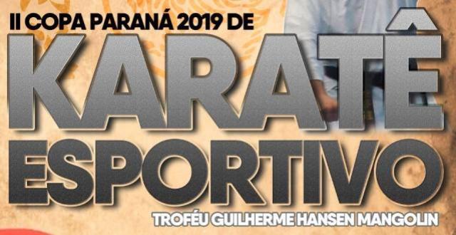 Copa Guilherme Mangolin de Karatê acontecerá neste Sábado, 31, em Moreira Sales