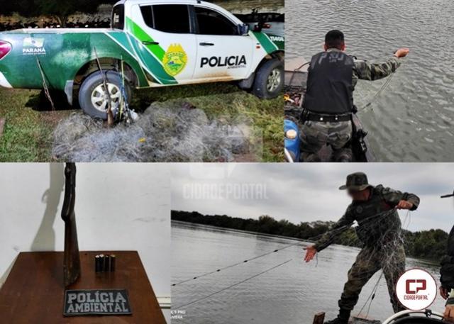 Polícia Ambiental prende caçador e apreende arma de fogo em Icaraíma