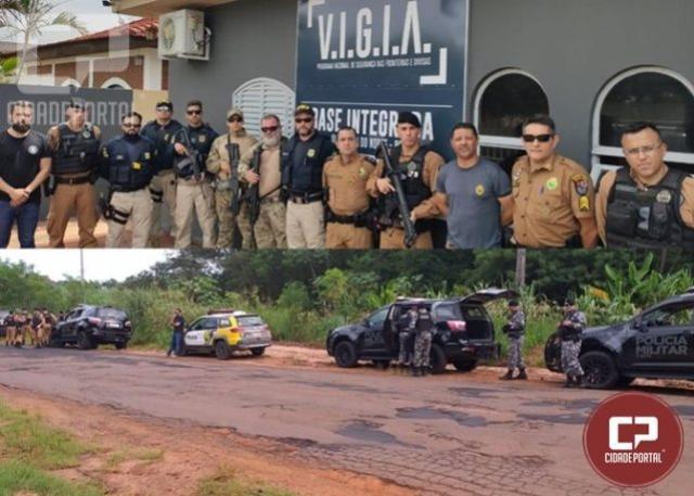 Operação Hórus Paraná no município de Querência do Norte ganhou reforço no fim de semana