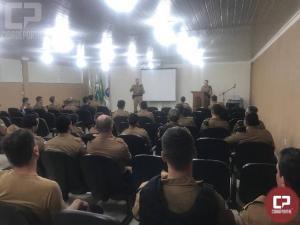 19º Batalhão da Polícia Militar em Toledo homenageia Policial Destaque do Mês de Janeiro
