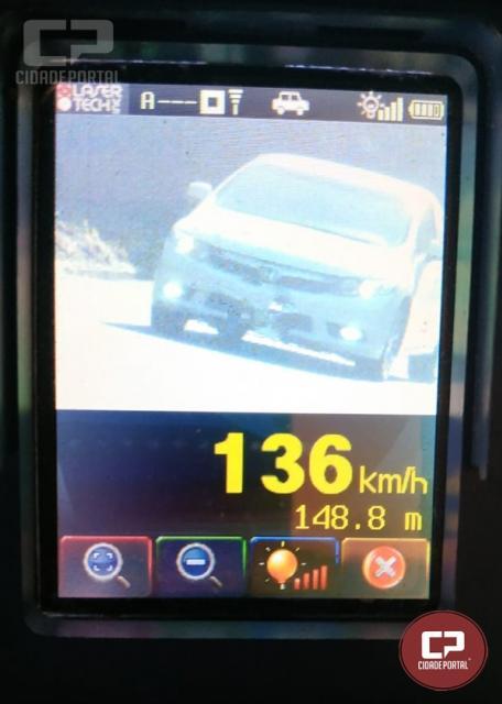 PRE autua 36 motoristas em operação radar no município de Cafezal do Sul