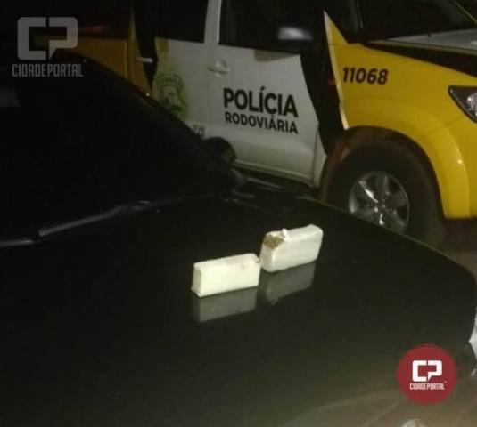 Policia Rodoviária Estadual de Cascavel apreende maconha e prende dois suspeitos