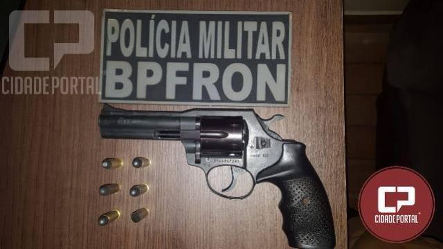 BPFron apreende arma da fogo em Espigão Alto do Iguaçu/PR