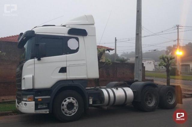 Polícia Militar age rápido e recupera em Rondon caminhão que foi roubado na cidade de Jussara