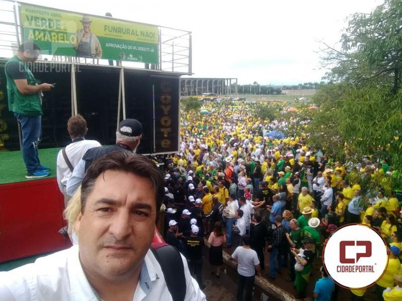 Presidente do Aprosoja-PR chama produtores para sair fora das porteiras para corrigir os rumos do nosso País