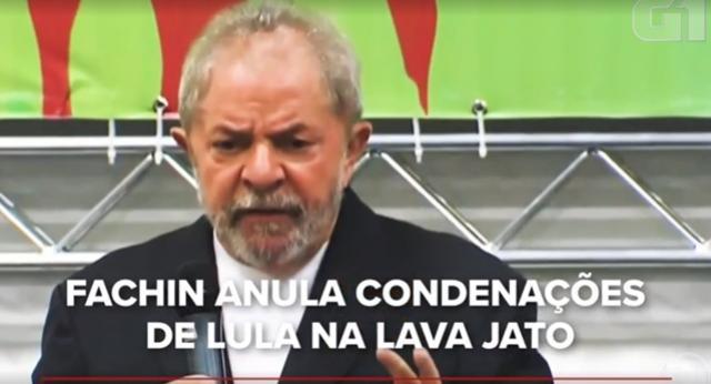 Fachin anula condenações de Lula relacionadas à Lava Jato, ex-presidente volta a ser elegível