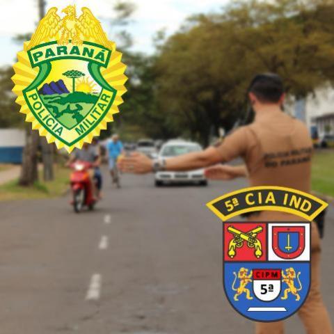 Durante operação maio amarelo 42 autos de infração são lavrados em apenas um dia em Cianorte