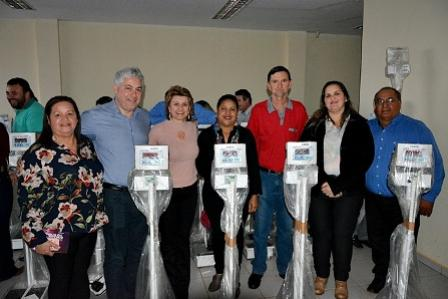 Município de Farol também recebe balanças do programa Paraná Saudável